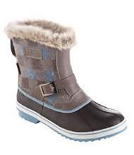 Women's Waterproof Rangeley Pac Boots, Mid Print Insulated