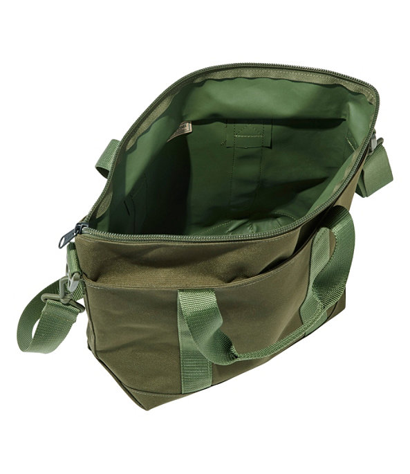 Hunter's Tote Bag, Zip-Top with Strap, Medium, Olive Drab, large image number 1