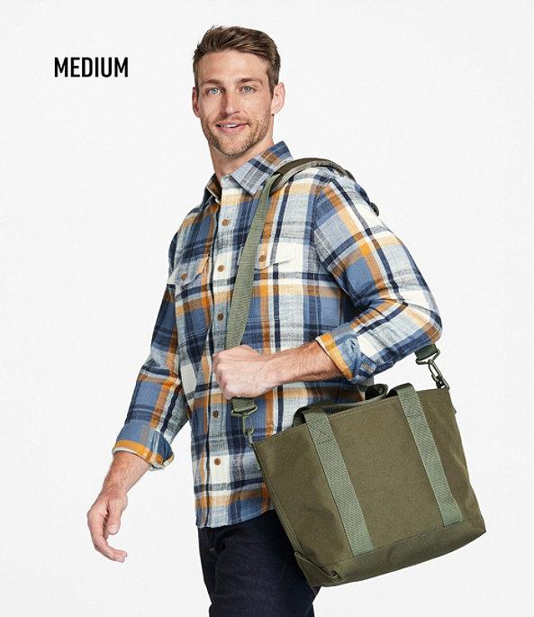 Hunter's Tote Bag, Zip-Top with Strap, Medium, Olive Drab, large image number 3