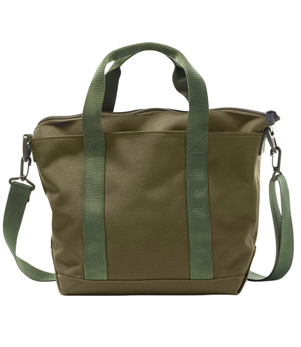Hunter's Tote Bag, Zip-Top with Strap, Medium, Olive Drab, large image number 0