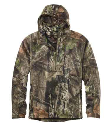 Men's Ridge Runner Midweight Quarter-Zip Hoodie, Camo