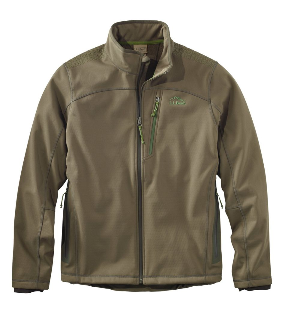 Men's Ridge Runner Soft-Shell Hunting Jacket