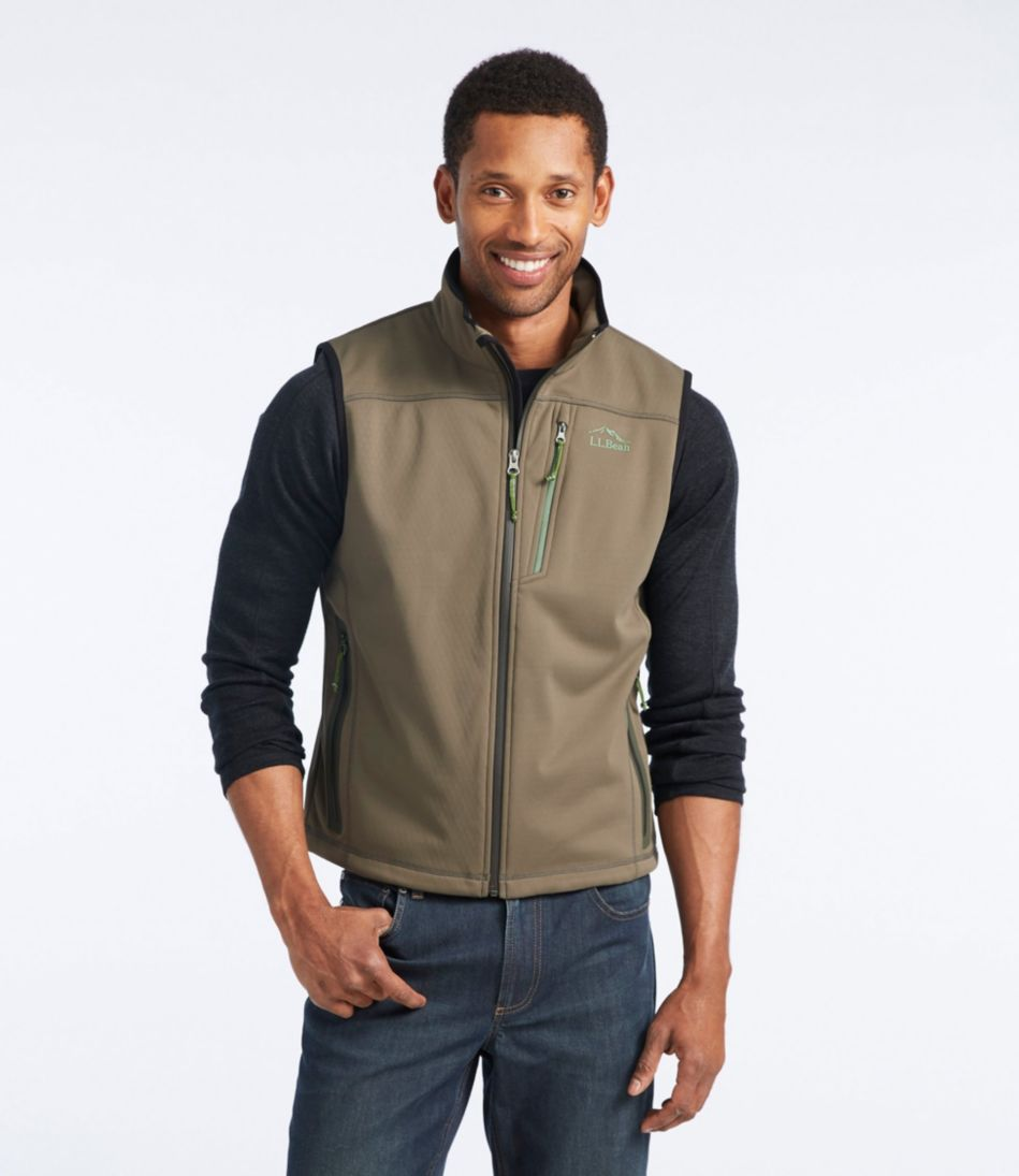 Ridge Runner Soft-Shell Vest, Regular
