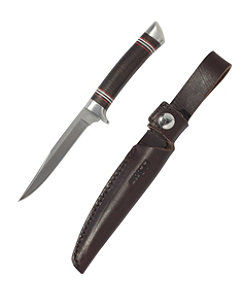 L.L.Bean Stacked Leather Hunting Knife, Small