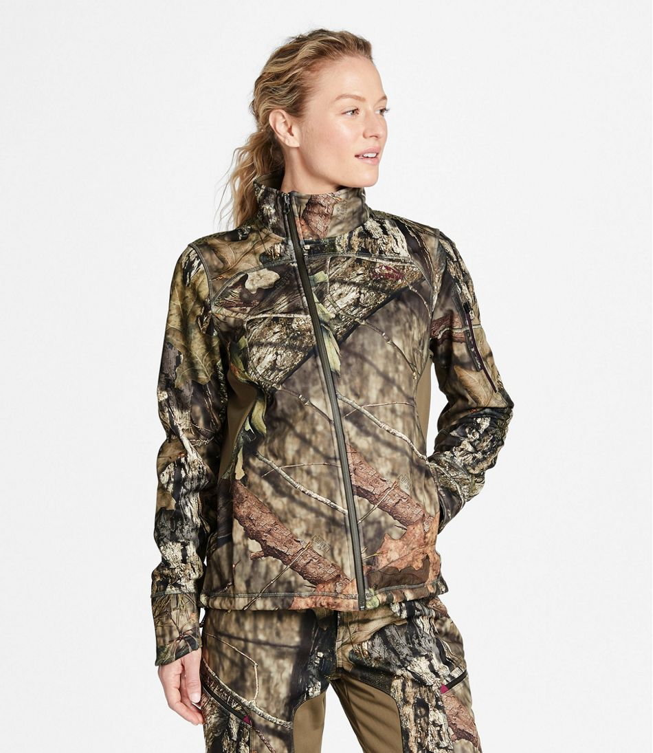 Women's Ridge Runner Soft-Shell Jacket, Camo