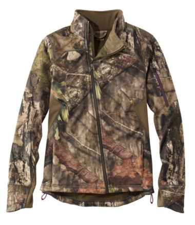 Women's Ridge Runner Soft-Shell Jacket, Camo