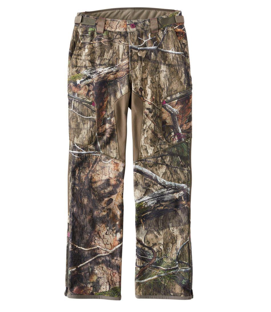 Women's Ridge Runner Soft-Shell Hunting Pants, Camo