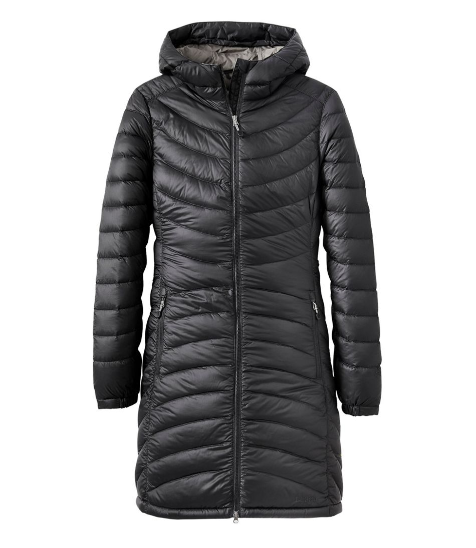 Ultralight 850 Down Hooded Coat