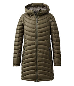 Women's Ultralight 850 Down Hooded Coat