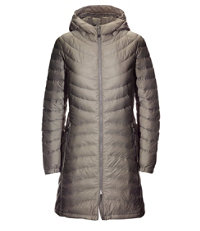 Ultralight 850 Down Hooded Coat