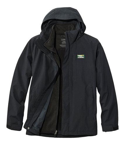 Men S L L Bean Sweater Fleece 3 In 1 Jacket