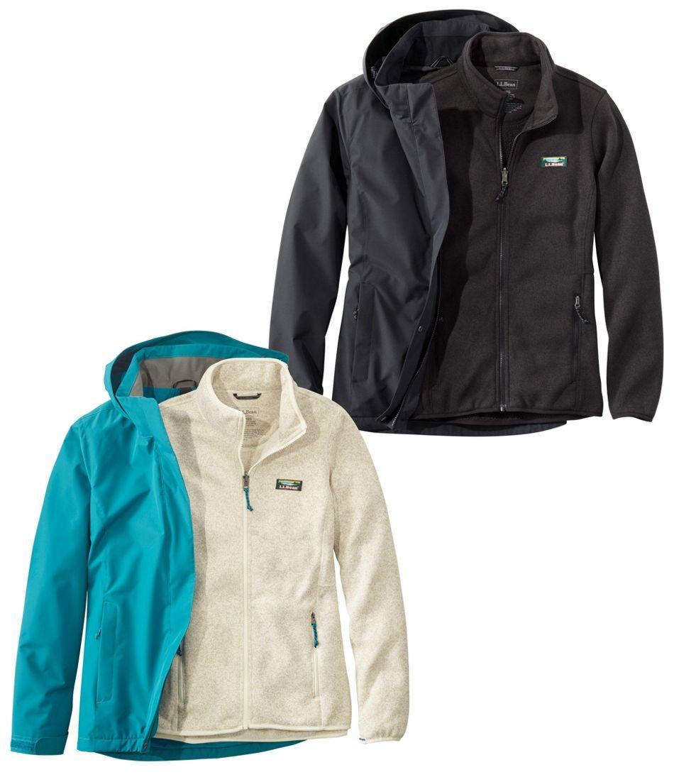 Women's L.L.Bean Sweater Fleece 3-in-1 Jacket