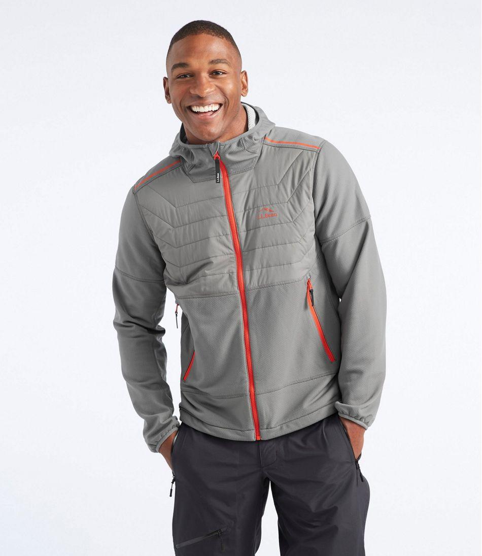 North Col Hooded Hybrid Jacket, Colorblock