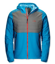 Men's North Col Hooded Hybrid Jacket, Colorblock