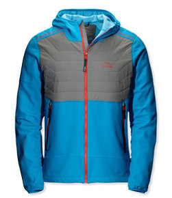North Col Hooded Hybrid Jacket, Colorblock