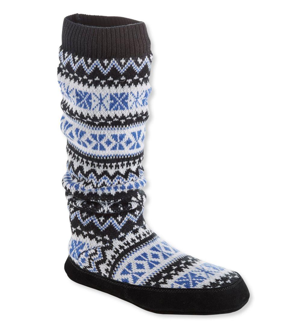 Women's L.L.Bean Slipper Socks, Tall Knit