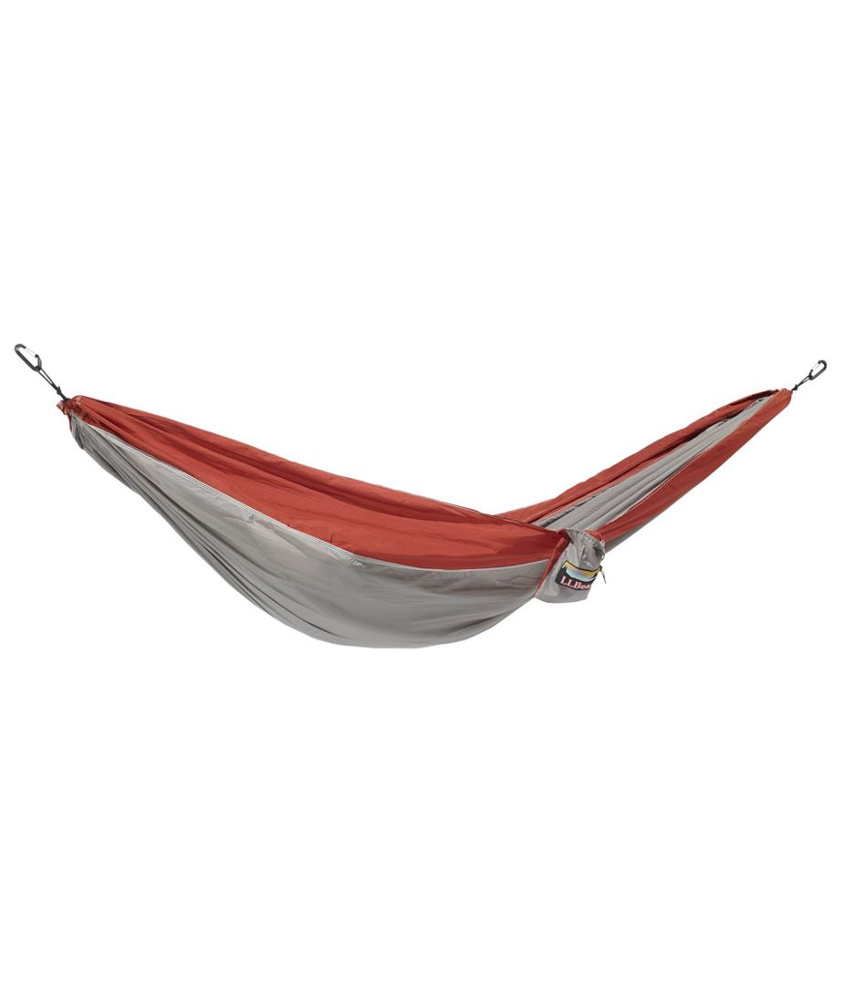 L.L. Bean Camping Double Hammock. Great gift idea for outdoor enthusiast.