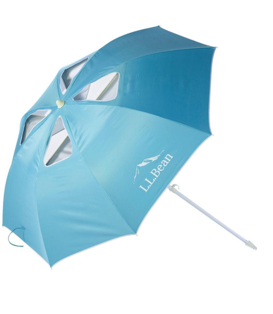 Attractive L.L.Bean Wind Challenger Beach Umbrella