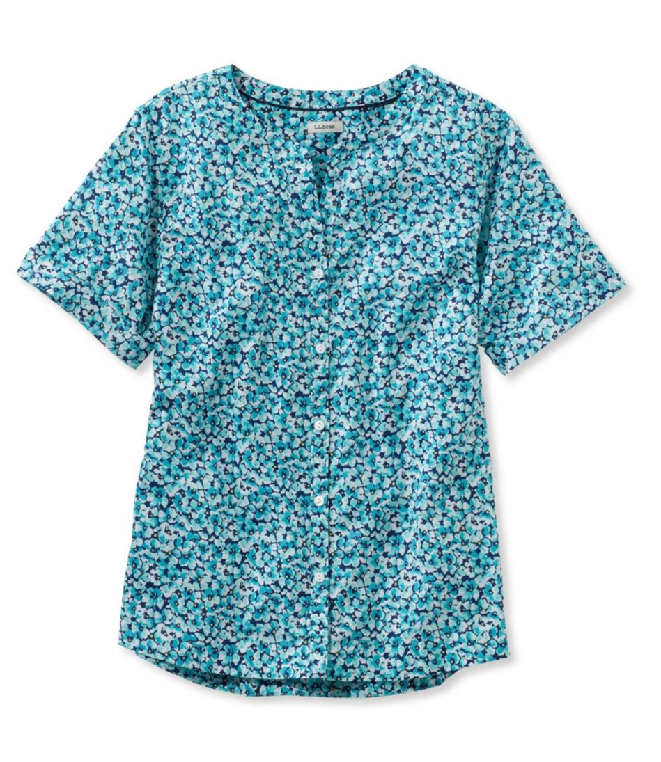 Easy Cotton Shirt, Floral