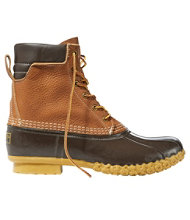"Men's Tumbled-Leather L.L.Bean Boots, 8"" Padded Collar"