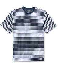 Pima Cotton T-Shirt, Traditional Fit Narrow Stripe