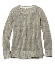 Soft Tape-Yarn Sweater, Pullover Marled