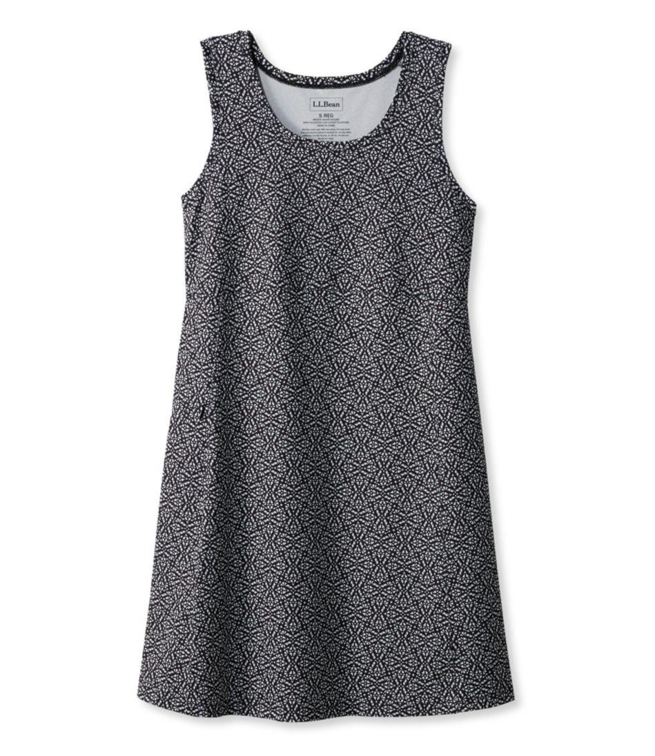 Sleeveless Fitness Dress, Geo Print