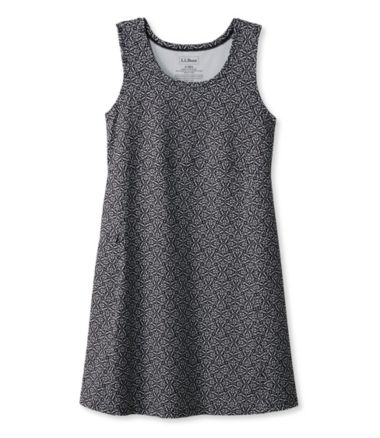 Sleeveless Fitness Dress, Geo Print