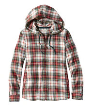 Scotch Plaid Shirt, Relaxed Zip Hoodie