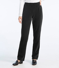 Women's Perfect Fit Knit Cords, Slim-Leg