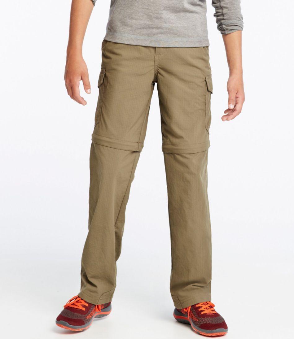 Boys' Trekking Zip-Off Pants