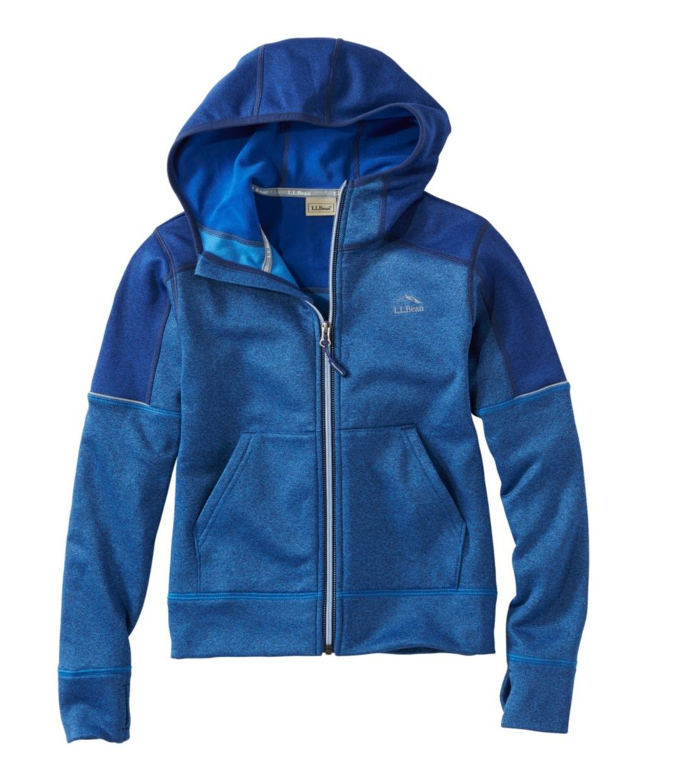 Boys' Mountain Fleece Hoodie, Full-Zip Colorblock