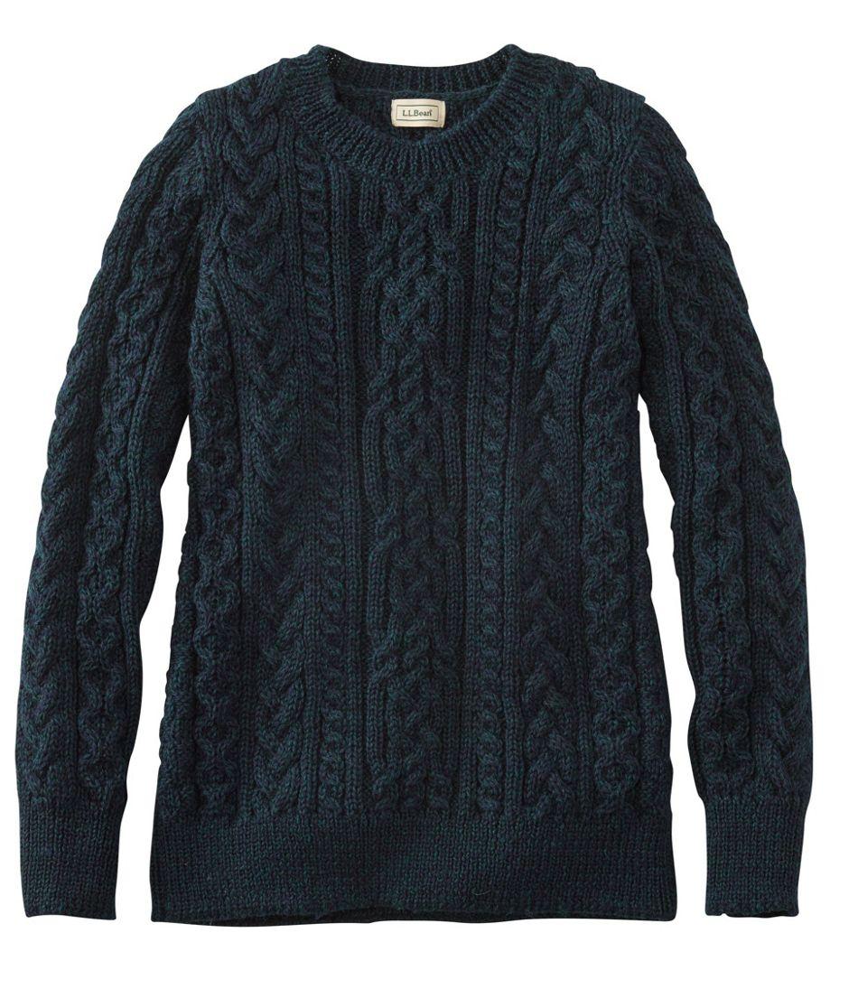 1912 Heritage Irish Fisherman Sweater, Crewneck