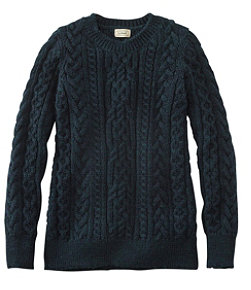 1912 Heritage Irish Fisherman Sweater, Crewneck
