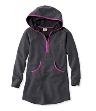 Girls' Hooded Sweatshirt Dress