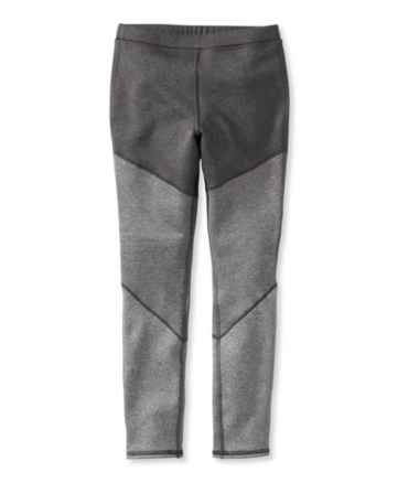 Girls' Mountain Fleece Leggings, Colorblock