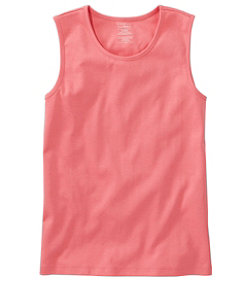 Women's Pima Cotton Tee, Shell