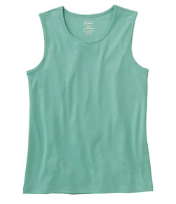 Pima Cotton Tee, Shell