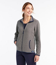 Soft-Brushed Full-Zip Fitness Fleece Jacket