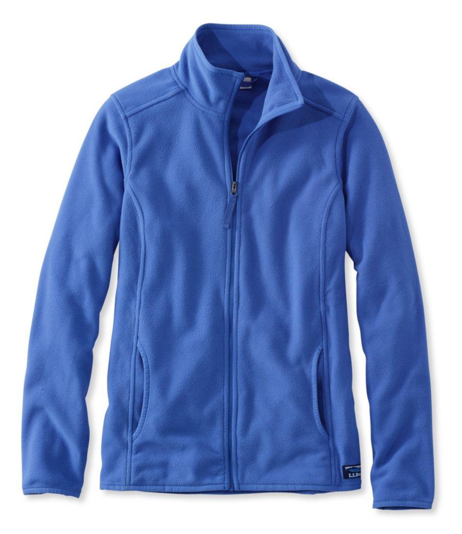 Soft-Brushed Full-Zip Fitness Fleece Jacket