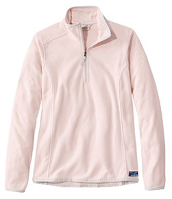 Women's Soft-Brushed Fitness Fleece Pullover, Quarter-Zip