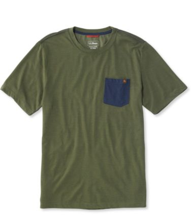 Basecamp Merino-Blend Pocket Tee, Colorblock