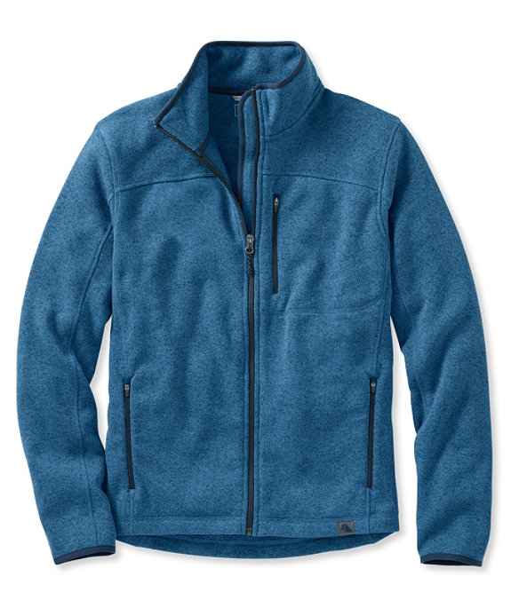 Bean's Sweater Fleece, Full-Zip Jacket, Dusk Blue, large image number 0