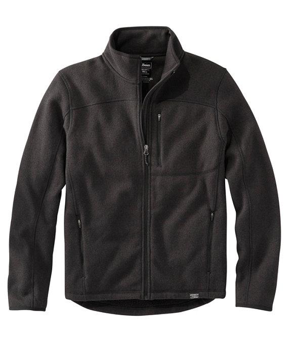 Bean's Sweater Fleece, Full-Zip Jacket, Classic Black, large image number 0