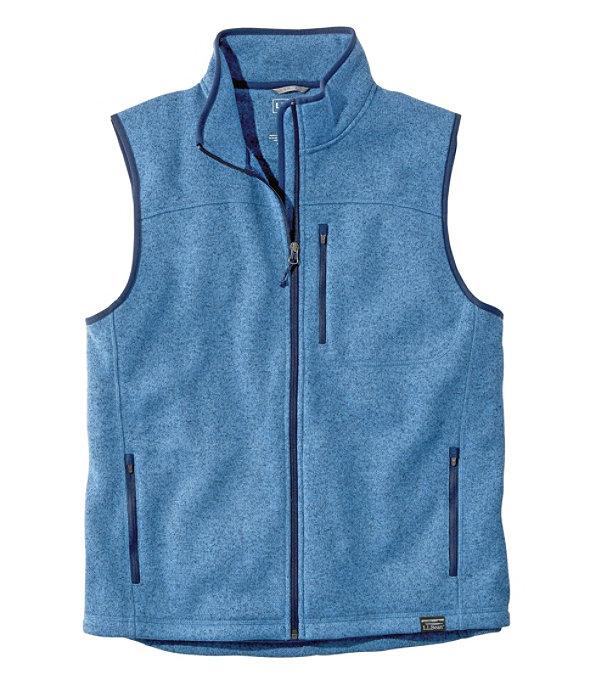 Sweater Fleece Vest, Rustic Blue, large image number 0
