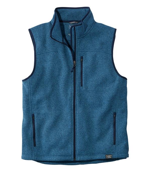 Sweater Fleece Vest, Dusk Blue, large image number 0