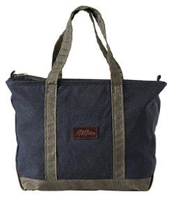 Waxed-Canvas Tote Bag