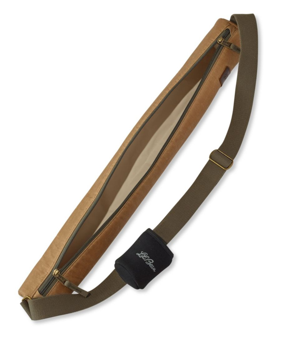 Insulated Waxed-Canvas Sling