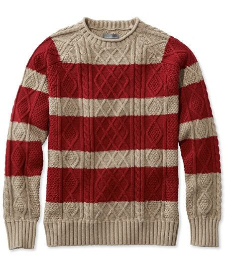 Men's Vintage Style Sweaters – 1920s to 1960s Signature Fisherman Sweater Rollneck Stripe  AT vintagedancer.com