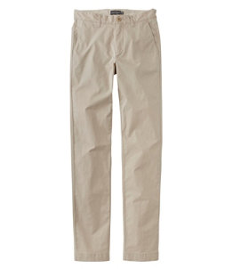 Men's Signature Twill Chino Pants with Stretch, Slim Straight